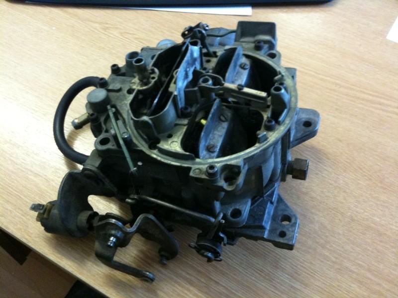 Rochester Quadrajet carburettor