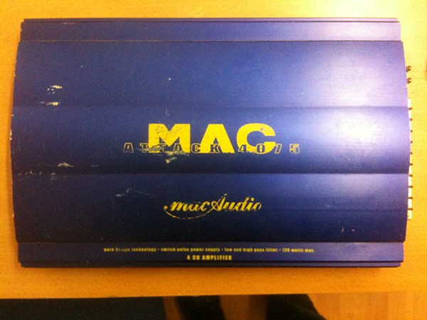 MAC Attack 4075 amplifier
